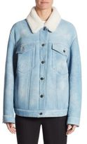 Alexander Wang Oversized Shearling Jacket