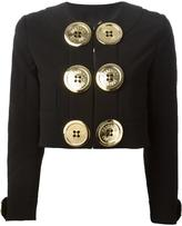 Moschino oversized buttons jacket