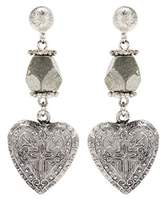 Givenchy Heart earrings