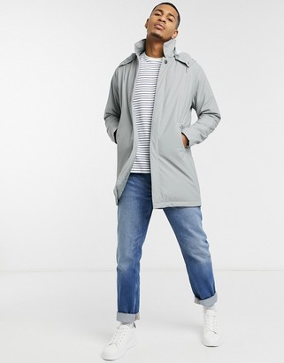 Rains mac raincoat in grey