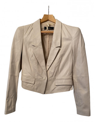 By Malene Birger Beige Leather Leather jackets