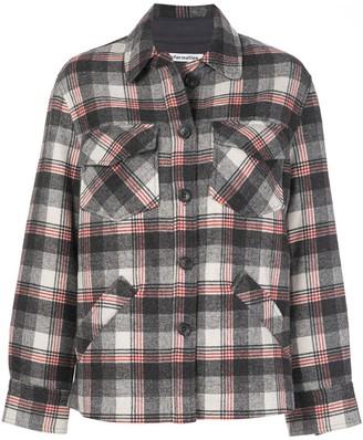 Reformation Woodside check jacket