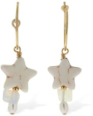 Anni Lu Etoile Hoop Earrings