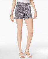 Thalia Sodi Pebble-Print Pull-On Shorts, Created for Macy's