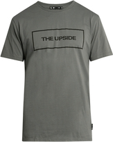 The Upside Logo-print box-cut cotton-jersey T-shirt
