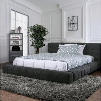Mercer41 Meunier Tufted Upholstered Platform Bed Size: Queen