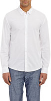 James Perse Men's Washed Voile Shirt-WHITE
