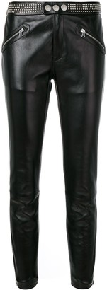 RED Valentino Studded Skinny Trousers