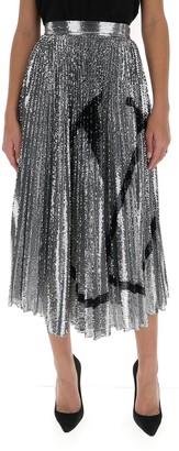 Valentino VLogo Signature Embroidered Skirt