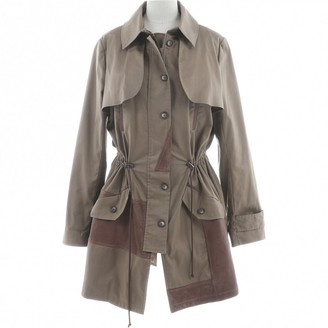 Thakoon Beige Cotton Coats