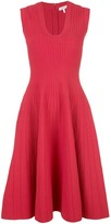 Casasola sleeveless round neck dress