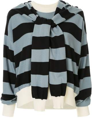 Sonia Rykiel striped long-sleeve sweater