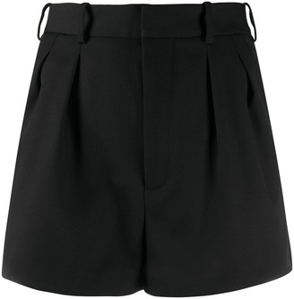 Saint Laurent High-Waisted Tailored Shorts