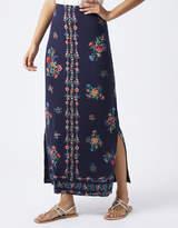 Monsoon Patty Print Maxi Skirt