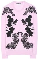 Dolce & Gabbana Silk And Cashmere Sweater