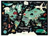 Chronicle Books Map Of The World 1000pc Family Puzzle Game