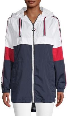 Tommy Hilfiger Zip Hooded Windbreaker Jacket