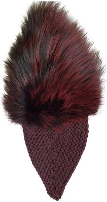 Jennifer Behr Burgundy Fox Hats