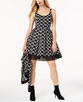 Sachin + Babi SB by Embroidered-Lace Fit & Flare Dress, Created for Macy's