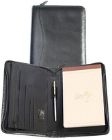 Scully Junior Zip Padfolio Soft Plonge 5019Z