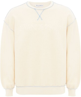 J.W.Anderson Embroidered Logo Cotton Sweatshirt