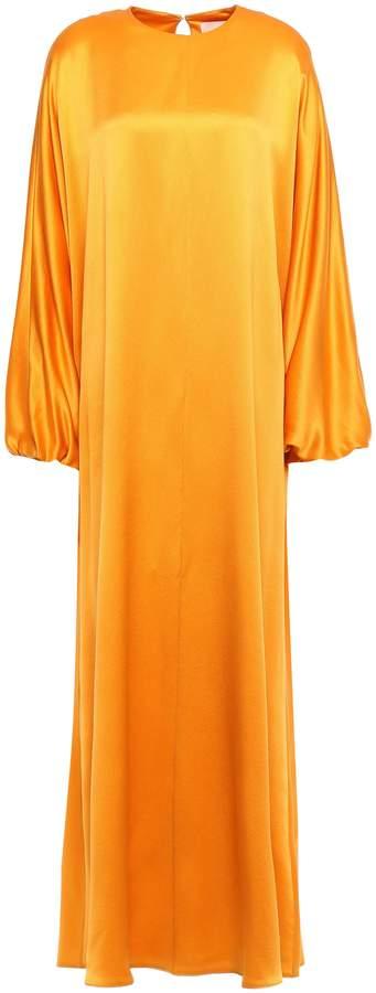 Roksanda Oversized Silk Satin-crepe Kaftan