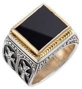 Konstantino 'Minos' Side Cross Ring