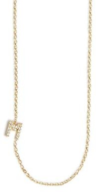 Anzie Customizable Love Letter Pave Necklace