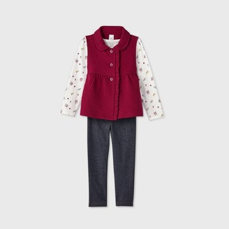 Just One You Made By Carter's Toddler Girls' 3pc Floral Top and Leggings Set - Just One You® made by carter's