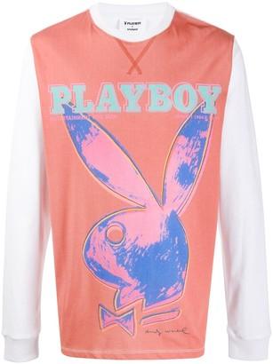 Soulland x Playboy printed T-shirt