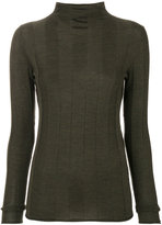 Joseph panelled turtle neck sweater