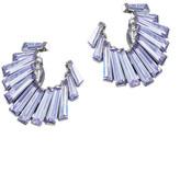 Jarin K Jewelry - Baguette Crescent Earrings