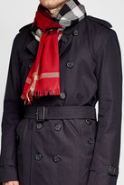 Burberry Printed Wool and Cashmere Scarf