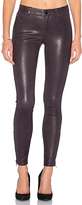 J Brand Mid Rise Leather Skinny