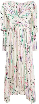 Isabel Marant Filao painted maxi dress