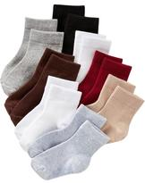Old Navy Crew Socks 8-Pack for Toddler & Baby