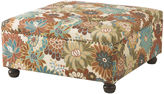 Madison Park Elsa Floral Cocktail Square Ottoman
