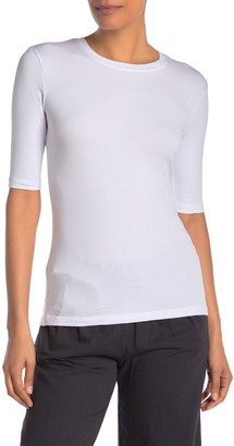 Jarbo Elbow Sleeve Crew Neck T-Shirt