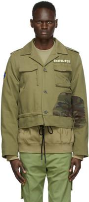 Ader Error Green Mily Jacket