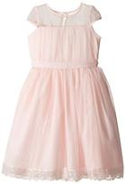 Us Angels Point D' Esprit Dress (Little Kids)