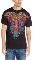 Liquid Blue Men's Trippy Lion T-Shirt