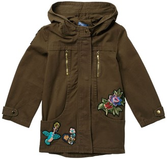 Truly Me Anorak Jacket with Patches