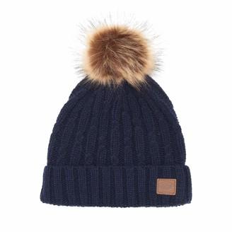 Animal Women's Indigo Blue Beanie Hat - Becki