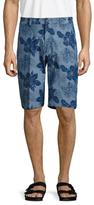 Brooks Brothers Chambray Reverse Tropical Bermuda Shorts