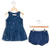 Stella McCartney Girls' Polka Dot Tulle Dress Set