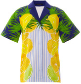 Mother of Pearl Rio Lemons Stretch Cotton Shirt