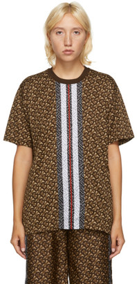 Burberry Brown Carrick TB T-Shirt