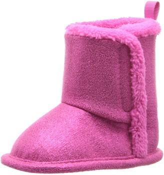 Gerber Girls' Cozy Faux Suede Winter Boot-K