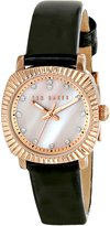 Ted Baker Women's TE2120 Mini Jewels Rose Gold-Tone Leather Watch