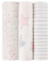 Aden Anais Aden + Anais Silky Soft Pack Of 3 Swaddling Cloths